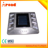 Installation Firmly Aluminium Pavement Solar Cat Maker Road Stud