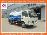 90HP 4X2 3cbm 5cbm Dongfeng Vacuum Sewage Suction Truck Sewage Truck