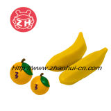 Orange and Banana Fruit Plastic Toy (ZH-PT008)
