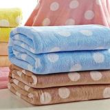 Coral Fleece Blanket Printing Fabric 1.8X2.2m 900g