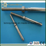 Stainless Steel Threaded Swaged Terminal with Nut