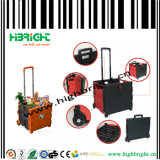 Plastic Folding Plastic Shopping Pack and Roll Cart