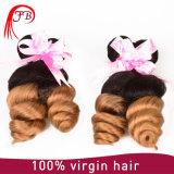 Ombre #1b/27 Loose Wave Hair Brazilian Hair Weave