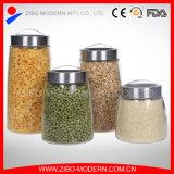 Wholesale Large Glass Food Storage Jar with Plastic Lid