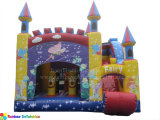 Inflatable Princess Castle, Fairy Castle and Bouncer with Slide Rb2013