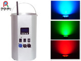 Wireless Battery Powered Remote Control RGBW Wash Uplight Stage LED PAR Light