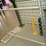 Galvanized Chain Link Temporary Fence Panel