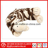 Microwaveable Zebra Animal Neck Wrap with Wheat Bag