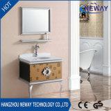 Wholesale Floor Steel Waterproof Bathroom Vanity Units with Mirror
