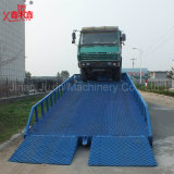 Manual Hydraulic Adjustable Loading Yard Ramp for Container