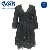 Fashion Ladies Lace Dress Black