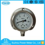 2.5′′ 60mm Panel Mounted Stainless Steel Oil Filled Pressure Gauge