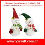 Christmas Decoration (ZY14Y15-1-2) Snowman Toy Crafts Christmas Decorations