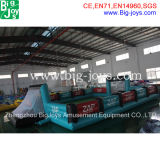 Giant Inflatable Soap Football Field for Sale, Customize Inflatable Water Football Field