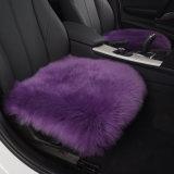 Fashion Stuffed Fur Sheepskin Auto Seat Cushion for Women