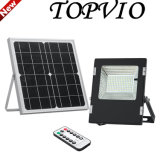 Rechargeable Battery LED Outdoor Floodlight 6W/10W/12W/18W with Solar Panel