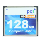 Pqi Compact Flash Card Hi-Speed 128MB Compactflash CF Memory Card