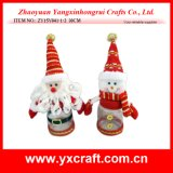 Christmas Decoration (ZY15Y041-1-2) Christmas Photo Jar Handmade Gifts