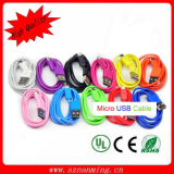 High Speed V8 Flat Micro USB Charger Cable for Samsung S4