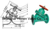 Rubber Lined Y Type Diaphragm Valve (YG41)