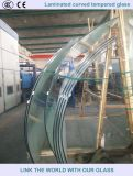 Laminated Curved Tempered Glass for Building
