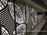 Architectural Laser Cut Aluminum Interior Decorative Wall Panels