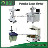 China Manufacturer 30W Online Flying Fiber Laser Marking Machine