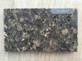 Double Color Artificial Marble Mirror Surface Quartz Stone Big Slabs