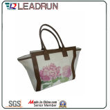 Backpack Nonwoven Shopping Bag Leather Cotton Canvas Hand Shopping Bag (X041)