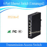 Dahua (Unmanaged) 2-Layer Industrial Level 4-Port Ethernet Switch (PFS3106-4T)