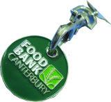 Trolley Coin Metal Key Chain (E-MK17)