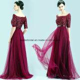 Sequins Ladies Party Dress A-Line Evening Prom Dresses Z608