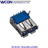 3.0 Single 9p a Type R/a DIP USB Female Head