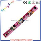 Customs 3D Cartoon PVC Wristband Bracelet for Promotion Gfit