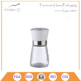 200ml Glass Spice Container with Ceramic Grinder