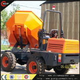 4X4 3ton Swivel Hydraulic Site Dumper
