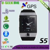 Watch Phone with GPS Bt FM 2.0MP Camera