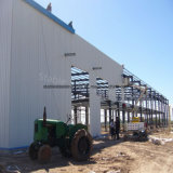 Light Steel Structure Construction Large Span Workshop with Nice Design