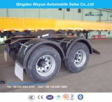Tandem Axle Towing Trailer Dolly for Over Heavy Duty Lowboy or Faltbed Trailer Dolly