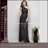 Black Lace Prom Evening Party Dresses (TBLS753)
