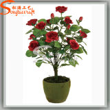 Hot Sale High Quality Decoration Artificial Bonsai Silk Flowers