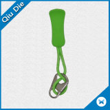Ocm Green Colors Low MOQ Zipper Puller for Sporting Accessories
