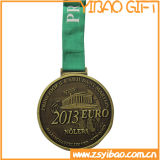 Promotional Sports Brass Badge Medal for Survenir Gifts (YB-MD-46)