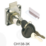 Zinc Iron Brass Furniture Accessory Desk Drawer Lock
