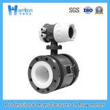 Black Carbon Steel Electromagnetic Flowmeter Ht-0216