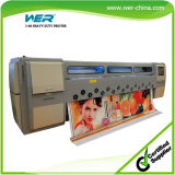 Solvent Printer 3.4m with 8seiko Spt1020/35pl