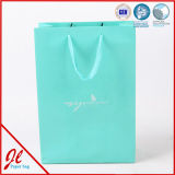 Luxury Custom Make Gift Printed Paper Shopping Bags with Ribbon