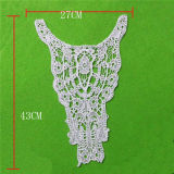 100 Coton Long Cotton Lace Dress Decorative Lace Collar (cn102)