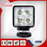 High Lumen 4.3 Inch 40W Spotlight CREE10W LED Work Light