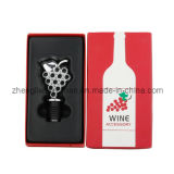 Grape Shaped Wine Stopper in Gift Box (608142)